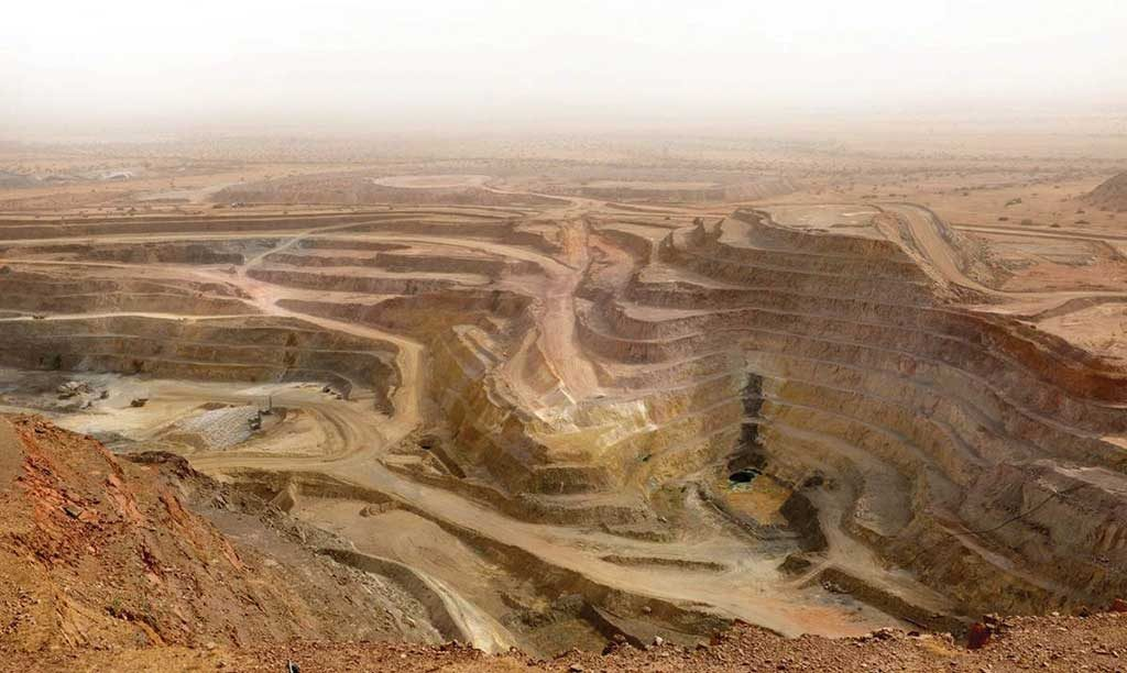 Nevsun Resources' copper-zinc Bisha mine in Eritrea. Credit: Nevsun Resources.