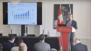 First Cobalt VP Exploration Dr. Frank Santaguida presents at the Canadian Mining Symposium in London on April 25, 2018.