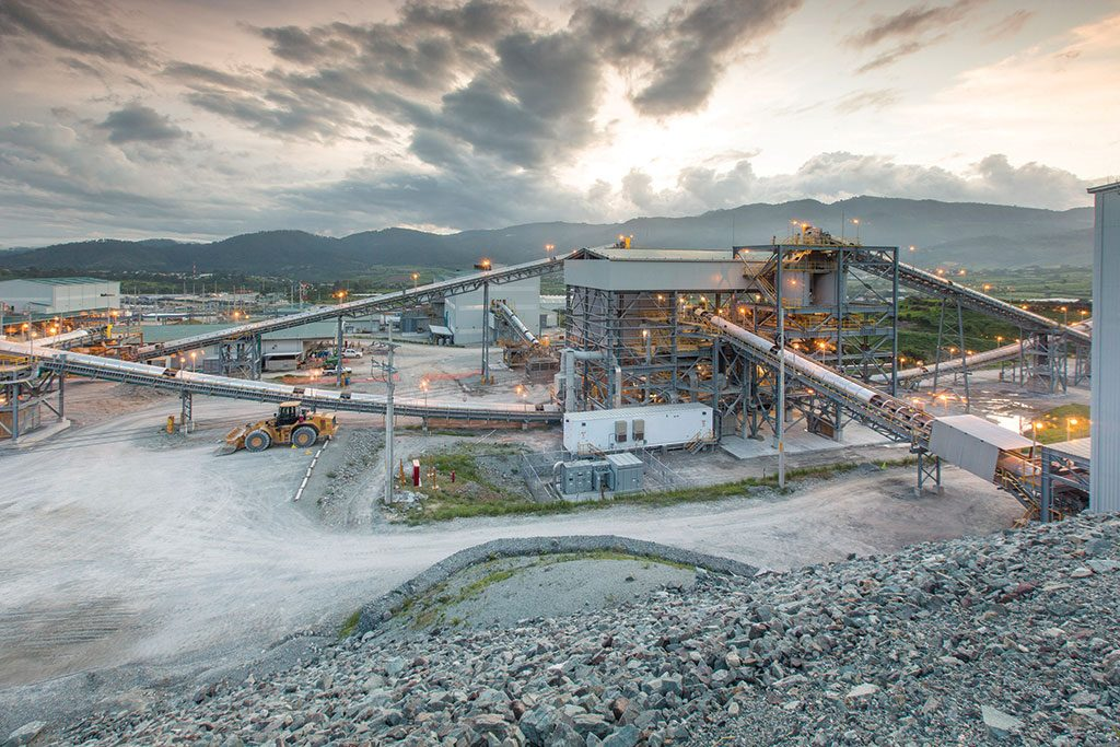 Tahoe Resources' Escobal silver mine in Guatemala, which has been on care and maintenance since mid-2017. Credit: Tahoe Resources.