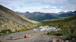 The Tom camp at Fireweed Zinc's Macmillan Pass zinc-lead-silver project in the Yukon. Credit: Fireweed Zinc.