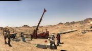 Drilling at Orca's Block 14 gold project in Sudan. Credit: Orca Gold.