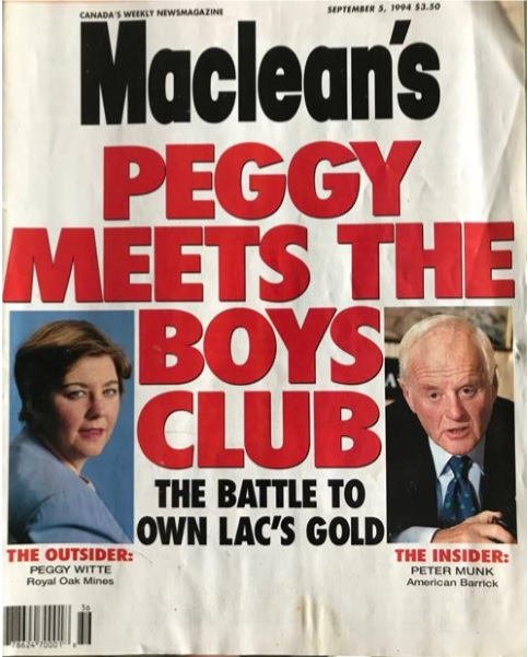 Maclean's magazine cover from September 1994.