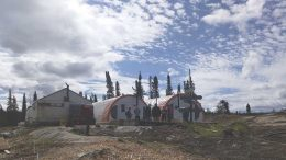 The camp at Commerce Resources' Ashram REE project in Quebec during a 2015 site visit. Credit: Commerce Resources.