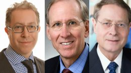 From left to right: Dynamic Fund's Robert Cohen, Van Eck's Joe Foster and Tocqueville's Doug Groh. Credit: Dynamic Funds/Van Eck/Tocqueville.