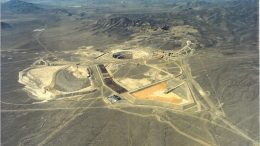 Placer Dome's Pipeline gold mine in Nevada during its commissioning in 1997. Credit: Placer Dome.