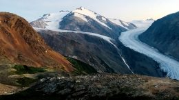 A view of IDM Mining's Red Mountain gold project in northwest British Columbia. Photo by Colin Desmond.