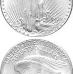 The 1933 Double Eagle gold coin.