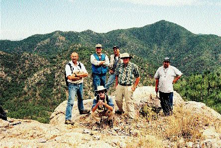 Newmont Mining's exploration team at Grayd Resource's La India gold project in Sonora state, Mexico.