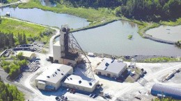 The No. 3 shaft at the past-producing Macassa mine near Kirkland Lake, Ont. Kirkland Lake Gold bought the Macassa mine and a 1,500-ton per day mill along with four past-producing gold properties in December 2001. The properties have historically produced some 22 million ounces of gold.