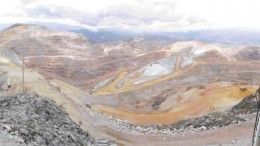 A strike at the Yanacocha gold mine (pictured), which accounts for about half Peru's gold output, could come any day now. The mine is operated by Newmont Mining in a partnership with Compania de Minas Buenaventura of Peru.STEPHEN STAKIW