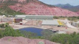 FRONTERA COPPERThe solvent extraction-electrowinning plant at Frontera Copper's new Piedras Verdes copper mine in Mexico.GOLDCORP, From Page B9