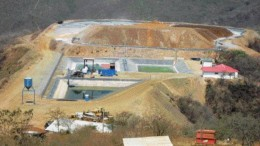 AUROGIN RESOURCESThe small El Sastre open-pit heap leach gold mine in central Guatemala.