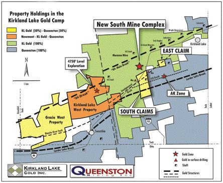 KL Gold, Queenston lock up more of Kirkland Lake camp – The Northern