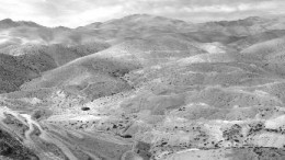 GLOBAL COPERPanoramic view of the Relincho copper-molybdenum project in Chile.