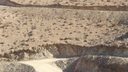 Drilling at Global Copper's Relincho project, an Andean porphyry-style copper-molybdenum deposit in Chile's Region III that, part-way through exploration, already hosts almost 10 billion lbs. of copper.
