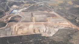Metallica Resources' Cerro San Pedro mine, in Mexico. Production of gold at the project has climbed 34% and silver 18% in the first quarter. The mine poured its first gold last year.