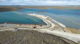 Agnico-Eagle Mines expects to pour first gold at its Meadowbank project, in Nunavut, in 2010.