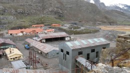 A view of the Santander mine site, which operated from 1958 to 1992. Photo by Vivian Danielson.