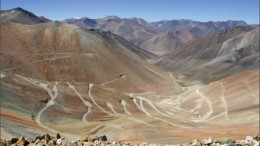 Peregrine Metals' Altar porphyry copper-gold deposit in Argentina's San Juan province. Photo by Peregrine Metals