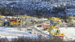 The beneficiation plant at the Silver Yard, part of Labrador Iron Mines' Schefferville iron ore project in the Labrador Trough. Photo by Labrador Iron Mines