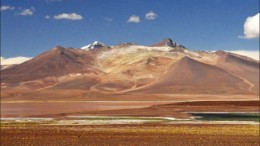 Andina Minerals' Volcan gold deposit in the Maricunga gold belt in Chile's Atacama region. Photo by Andina Minerals