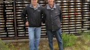 Hard Creek Nickel executive vice-president Neil Froc (left), with CEO Mark Jarvis at the Turnagain nickel project in Northern B.C. Photo by Matthew Allan