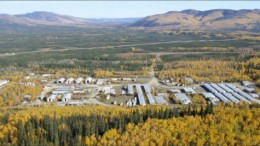 The exploration camp at International Tower Hill Mines' Livengood gold project in Alaska. Photo by International Tower Hill Mines