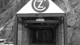 An entrance to the underground workings at Canadian Zinc's Prairie Creek zinc-lead-silver project in the Northwest Territories. Photo by Canadian Zinc