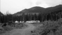 The road to the exploration camp at First Point Minerals' Decar nickel-iron alloy project in central British Columbia. Photo by Matthew Allan