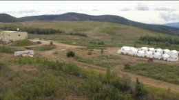 The camp at Golden Predator's Brewery Creek gold project in the Yukon. Photo by Ian Bickis