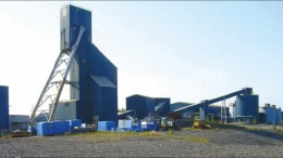A headframe and facilities at Alexis Minerals'past-producing Snow Lake gold mine in Manitoba. Photo by Alexis Minerals