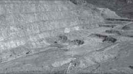 The open pit at SilverCrest Mines' Santa Elena silver-gold mine in Sonora, Mexico. Photo by SilverCrest Mines