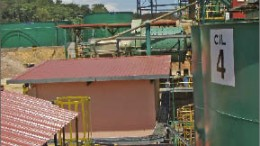 The processing plant at Monument Mining's Selinsing gold mine in Malaysia. Photo by The Northern Miner
