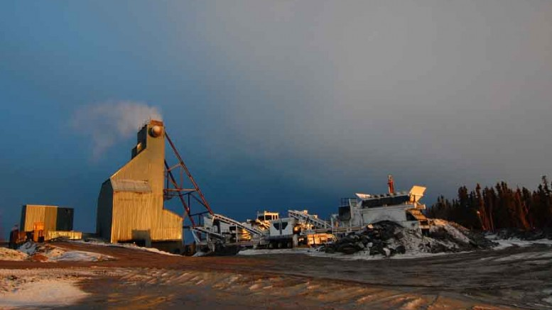 Surface facilities at Claude Resources' Seabee gold mine in Saskatchewan's La Ronge gold belt. Photo by Claude Resources