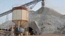 Equipment at Endeavour Mining's Nzema gold mine in Ghana. Photo by Endeavour Mining