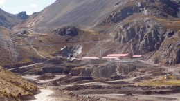 A portal and underground development workings at Trevali Mining's Santander polymetallic mine in Peru. Photo by Trevali Mining