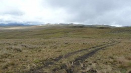 The landscape at the Quimsacocha gold project in Ecuador, which INV Metals is acquiring from Iamgold. Photo by INV Metals