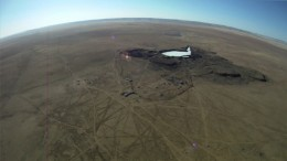 Aerial view of Prophecy Coal's Chandgana coal project in Mongolia. Photo by Prophecy Coal