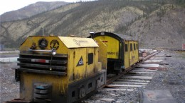 Equipment at Canadian Zinc's Prairie Creek zinc-lead-silver project in the Northwest Territories. Photo by Anthony Vaccaro