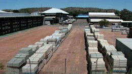 Core racks at Paladin Energy's Mt. Isa uranium project in Queensland, Australia. By Paladin Energy.