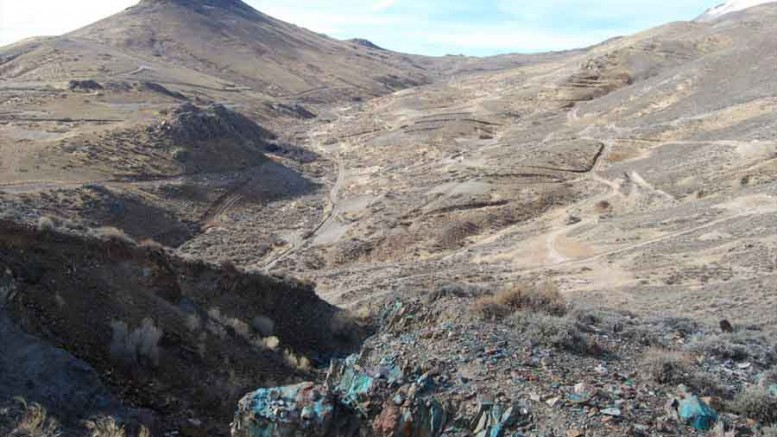 International Enexco's Contact copper project in northeastern Nevada. Source: International Enexco