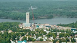 An aerial view of Goldcorp's Red Lake gold mine in northwestern Ontario. Source: Goldcorp