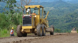 A road at Inmet Mining's Cobre Panama Project. Source: Inmet Mining
