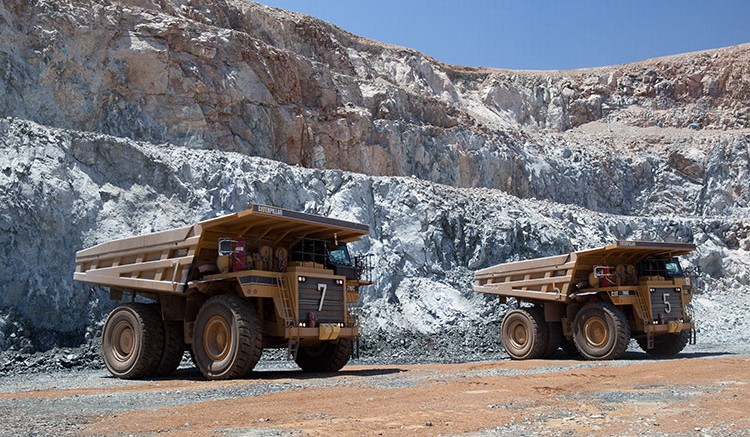 Trucks at Centamin's Sukari Mine. Source: Centamin
