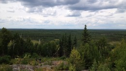 The landscape at Maudore Minerals' Comtois gold property, 150 km north of Val-d'Or, Quebec. Source: Maudore Minerals