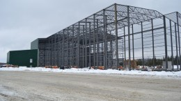 Construction of the processing plant at Canada Lithium's mine near Val d'Or, Quebec. Source: Canada Lithium