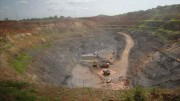 The Fayalala pit at Nordgold's Lefa gold mine complex in Guinea. Photo by Alexandra Feytis.