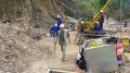 Workers prepare for drilling at Banro's Namoya project in the Democratic Republic of the Congo (DRC).  Source: Banro Corporation