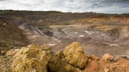 Katanga Mining's Musonoie-T17 open-pit copper mine in the Democratic Republic of the Congo. Source: Katanga Mining