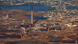 An aerial shot of HudBay's processing facilities in Flin Flon, Manitoba. Source: HudBay Minerals